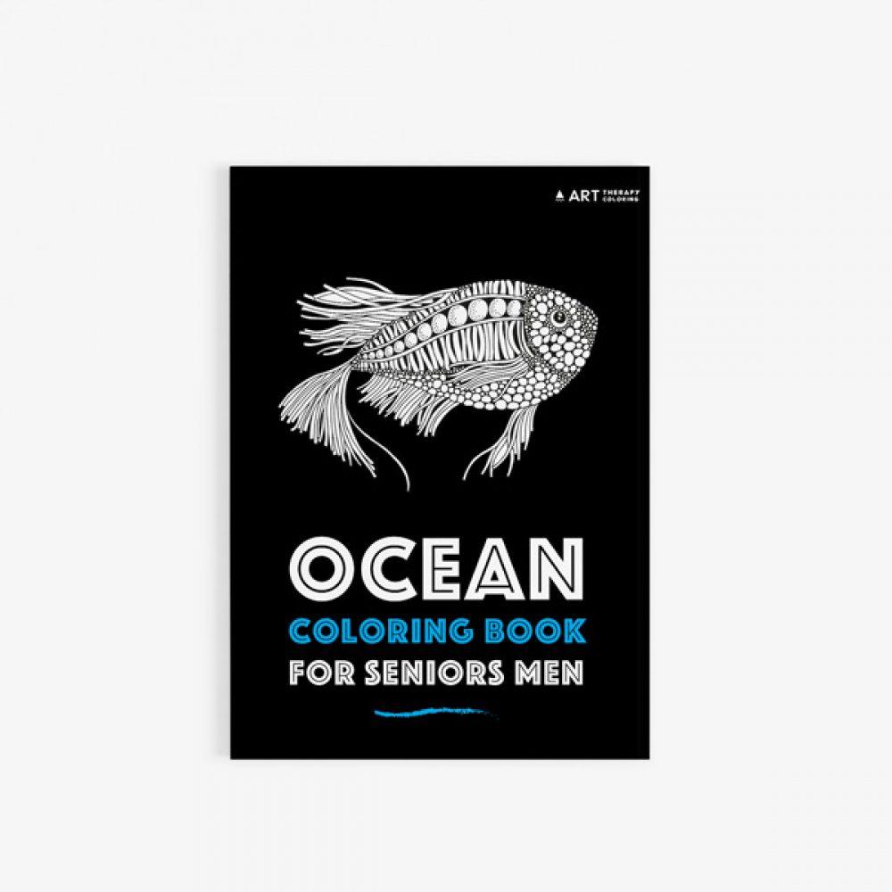 ocean coloring book for seniors men 30 - Coloring Books For Seniors