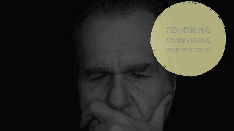 Coloring preserve seniors brain function