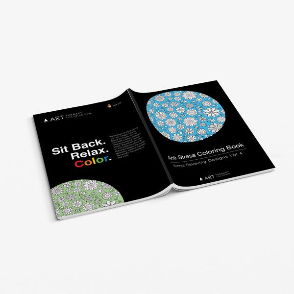 Anti-Stress Coloring Book: Stress Relieving Designs Vol 4