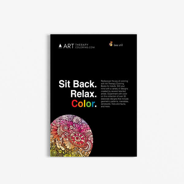 Coloring Book for Seniors: Anti-Stress Designs Vol 2