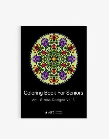 Coloring Book for Seniors: Anti-Stress Designs Vol 3