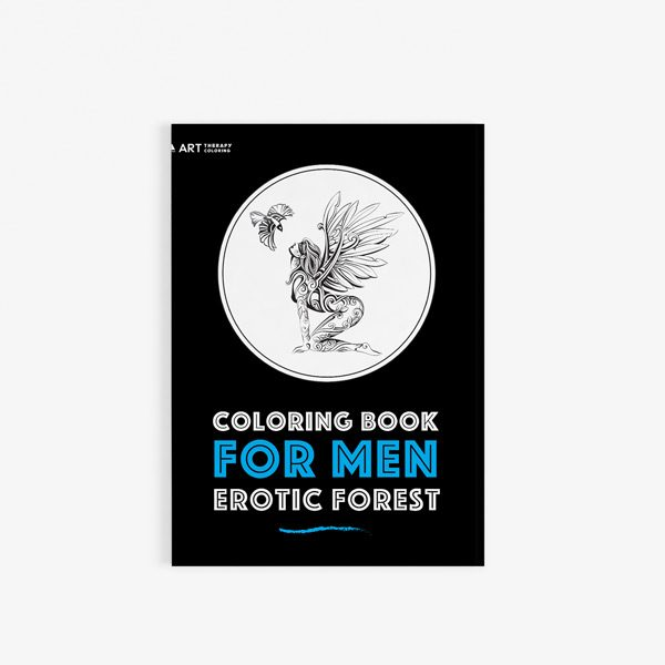 Coloring book for men: Erotic forest