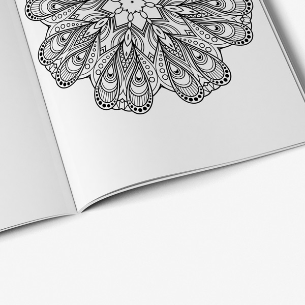 Flower coloring book for adults vol 3 - Art Therapy Coloring