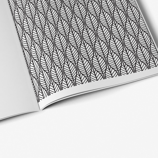 Geometric coloring book for teens - Art Therapy Coloring