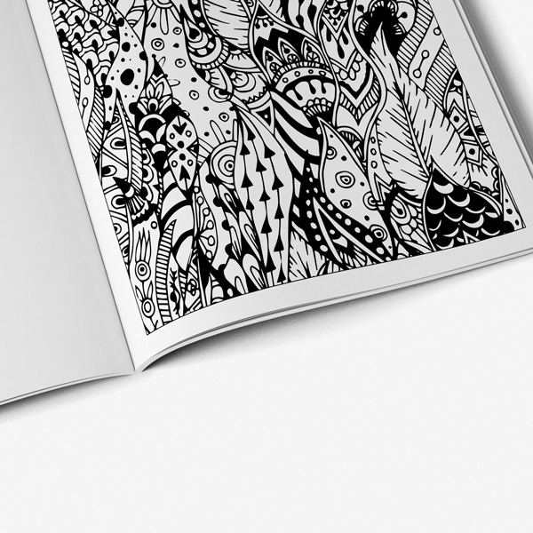 Intricate coloring book adults for vol 3