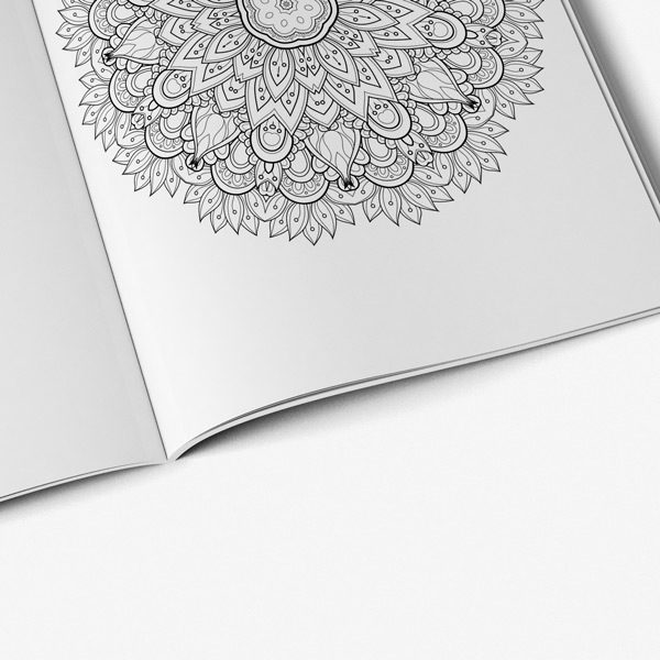 Intricate coloring book adults for vol 4