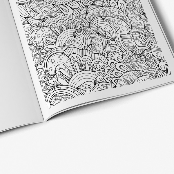 - Intricate Coloring Book Adults For Vol 4 - Art Therapy Coloring