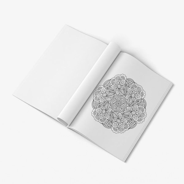 Intricate coloring book adults for vol 5