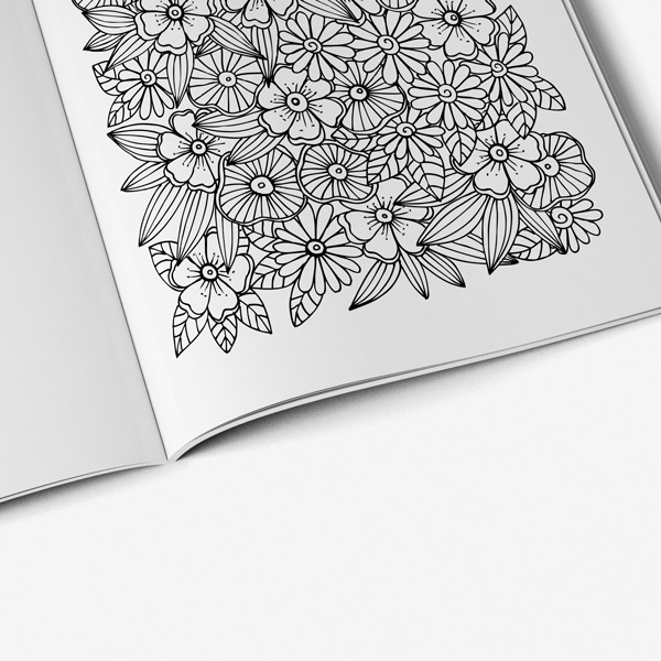 - Intricate Coloring Book Adults For Vol 5 - Art Therapy Coloring