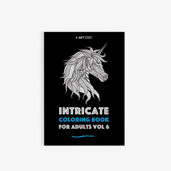 Intricate coloring book adults for vol 6