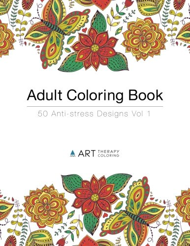 Adult Coloring Book: 50 Anti-Stress Designs