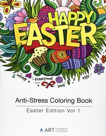 Anti stress coloring book easter edition vol 1