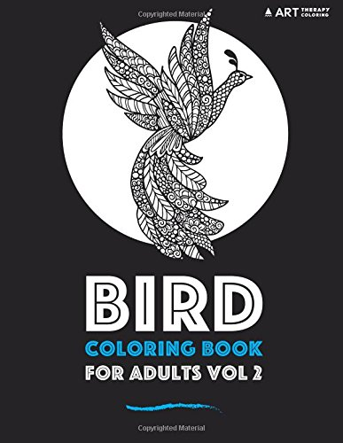 Bird Coloring Book For Adults Vol 2