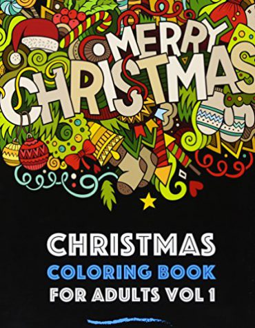Christmas Coloring Book for Adults Vol 1