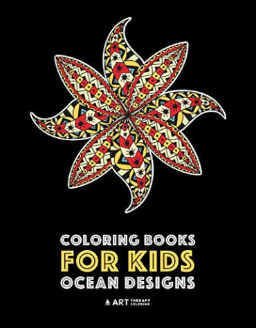 Coloring Books For Kids: Ocean Designs: Zendoodle Fish, Sharks, Whales, Dolphins, Penguins, Sea Horses, Sea Turtles and More