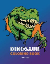 Dinosaur Coloring Book for Kids, Boys and Girls