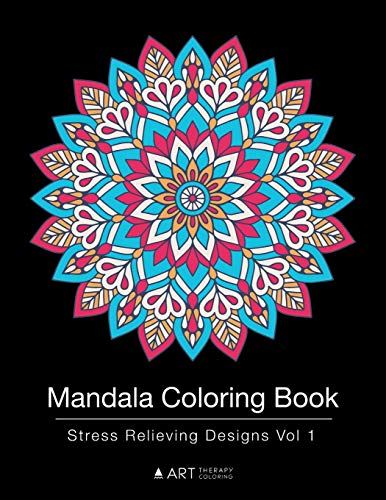 Mandala Coloring Book: Stress Relieving Designs Vol 1