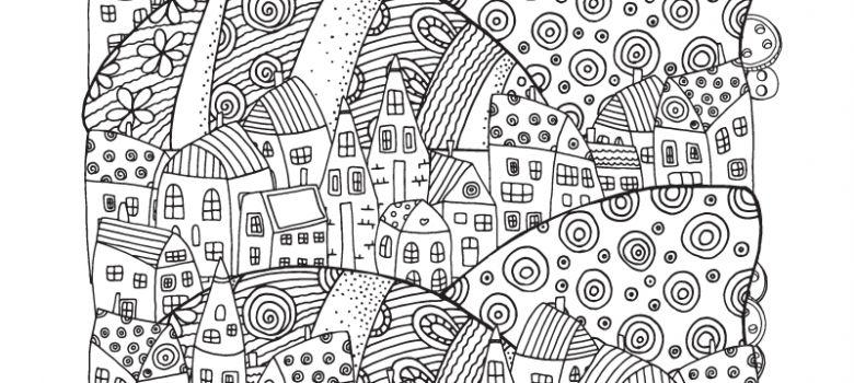 Complex Coloring Pages for Adults Archives -Art Therapy Coloring
